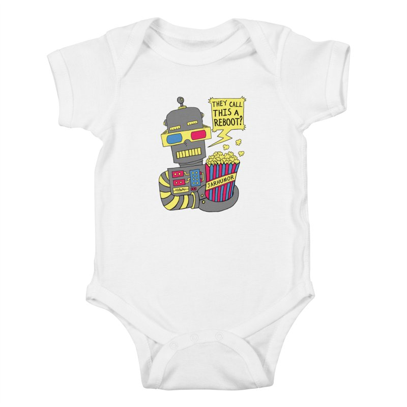 Robot Movie Reboot Kids Baby Bodysuit by JARHUMOR