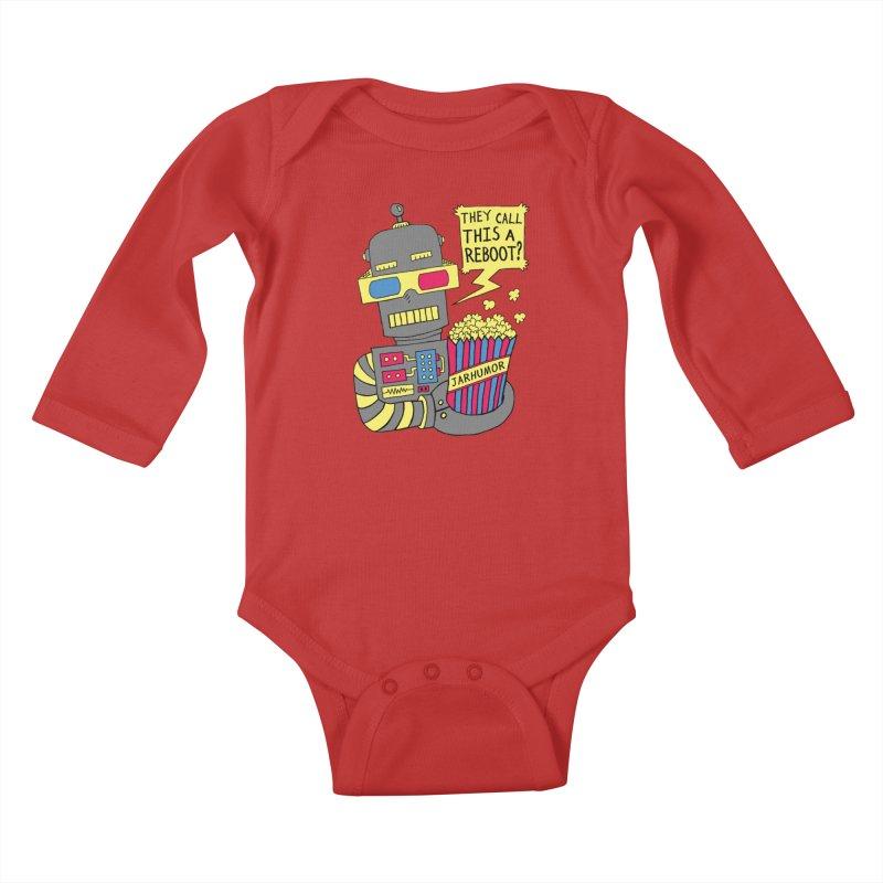 Robot Movie Reboot Kids Baby Longsleeve Bodysuit by JARHUMOR