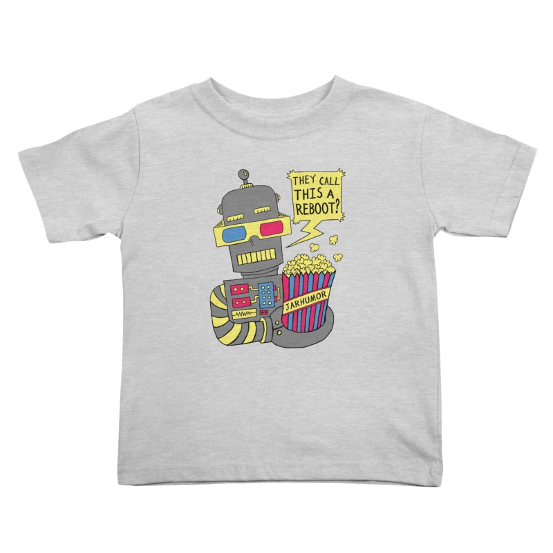 Robot Movie Reboot Kids Toddler T-Shirt by James A. Roberson (JARHUMOR)