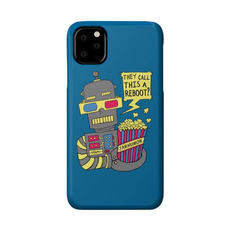 Robot Movie Reboot Accessories Phone Case by JARHUMOR