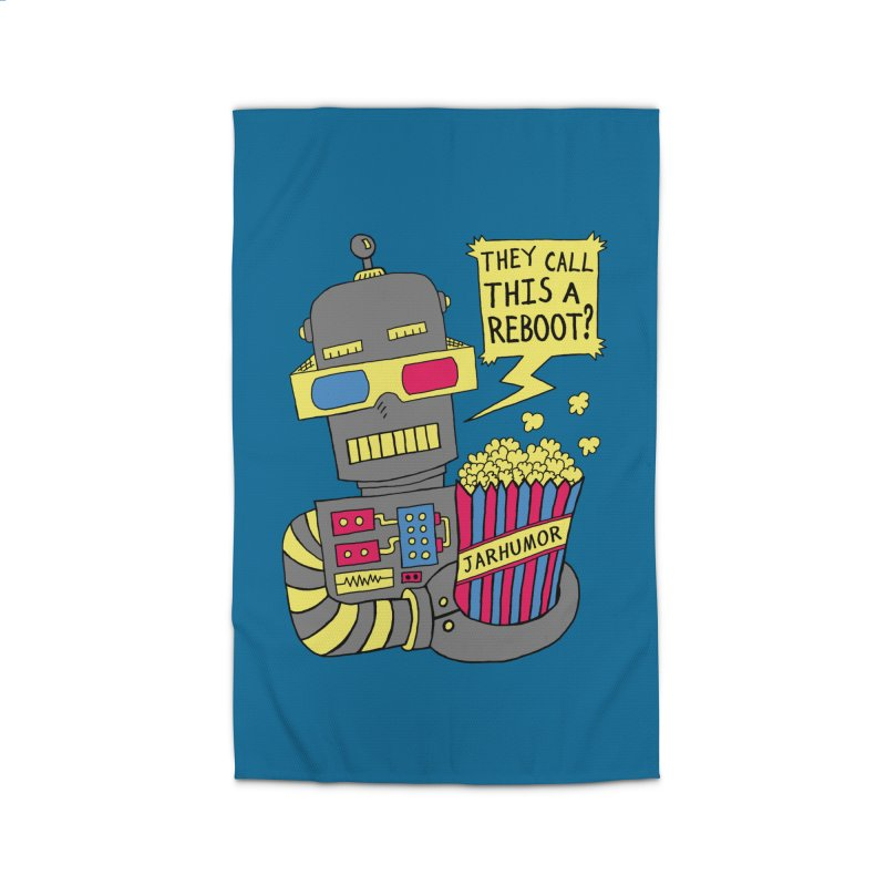 Robot Movie Reboot Home Rug by JARHUMOR