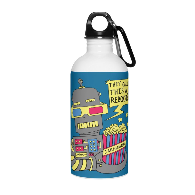 Robot Movie Reboot Accessories Water Bottle by JARHUMOR