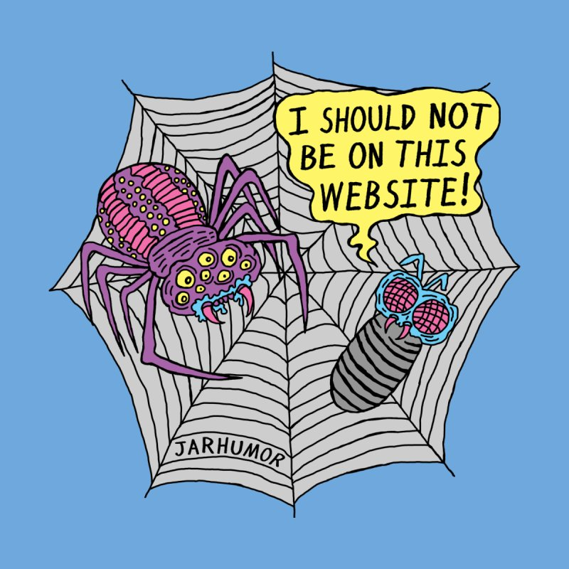 Spider Website Accessories Mug by JARHUMOR