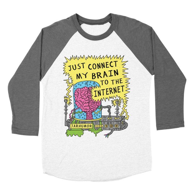 Internet Brain Women's Longsleeve T-Shirt by JARHUMOR