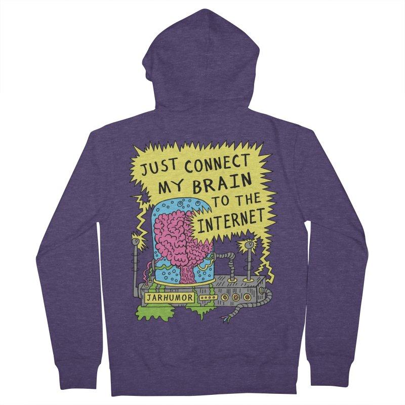 Internet Brain Men's  by JARHUMOR