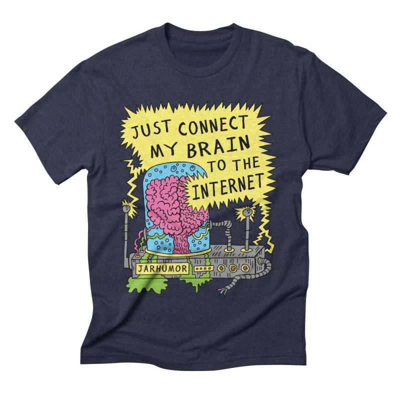 Internet Brain Men's  by JARHUMOR