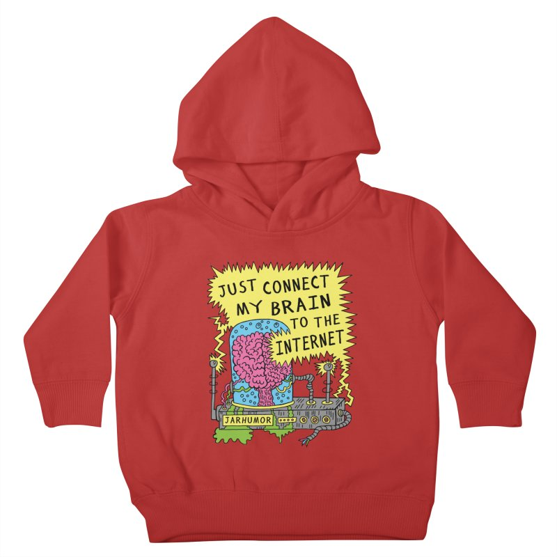 Internet Brain Kids Toddler Pullover Hoody by JARHUMOR