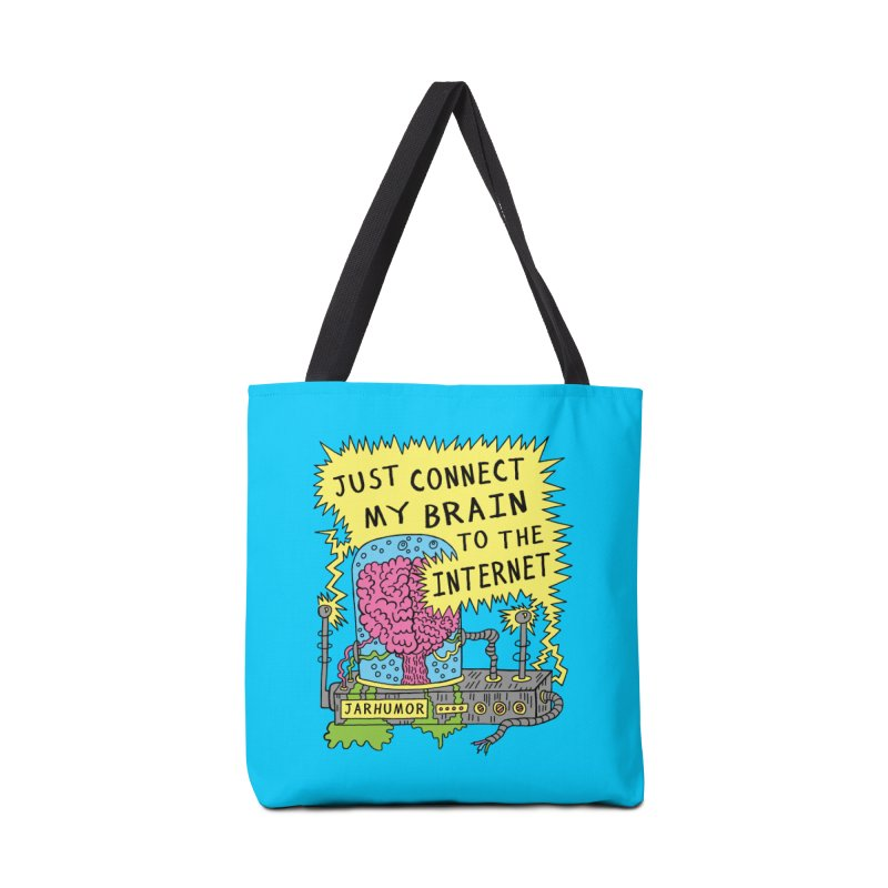 Internet Brain Accessories Tote Bag Bag by JARHUMOR