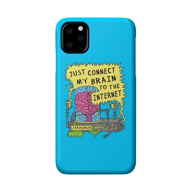 Internet Brain Accessories Phone Case by JARHUMOR