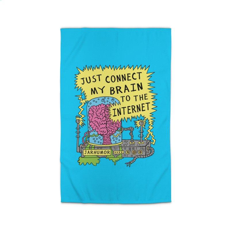 Internet Brain Home Rug by JARHUMOR