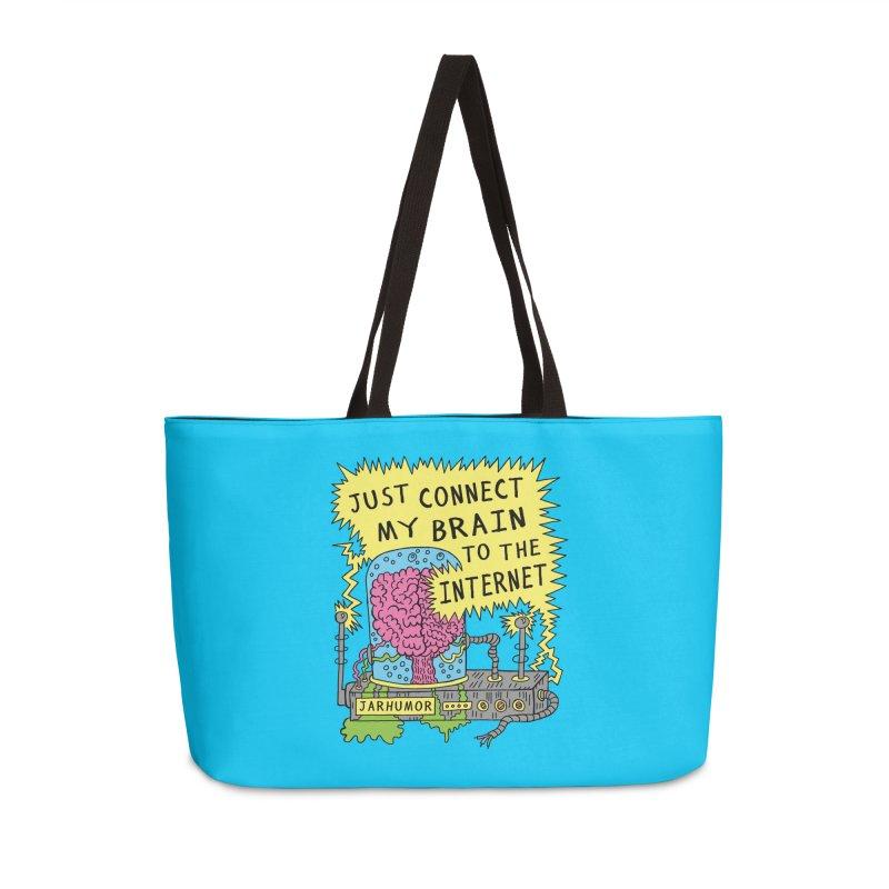 Internet Brain Accessories Weekender Bag Bag by JARHUMOR