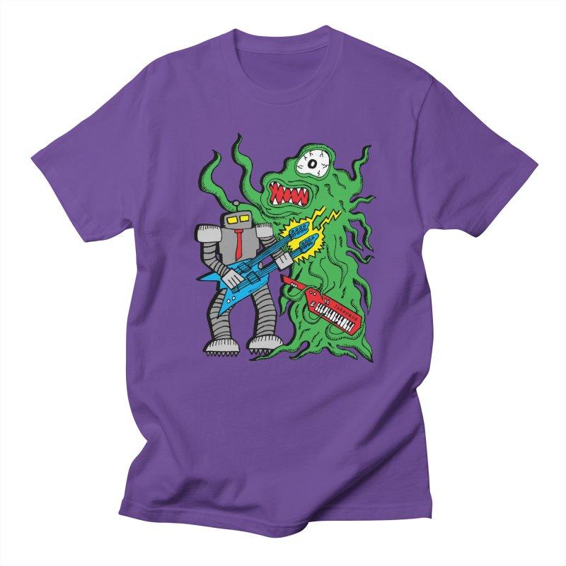 Robot Monster Power Jam Men's T-Shirt by JARHUMOR