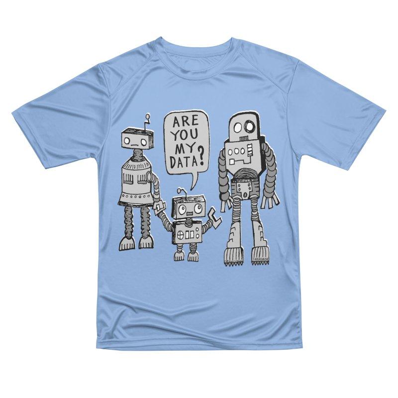 My Data? Robot Kid Women's Performance Unisex T-Shirt by JARHUMOR
