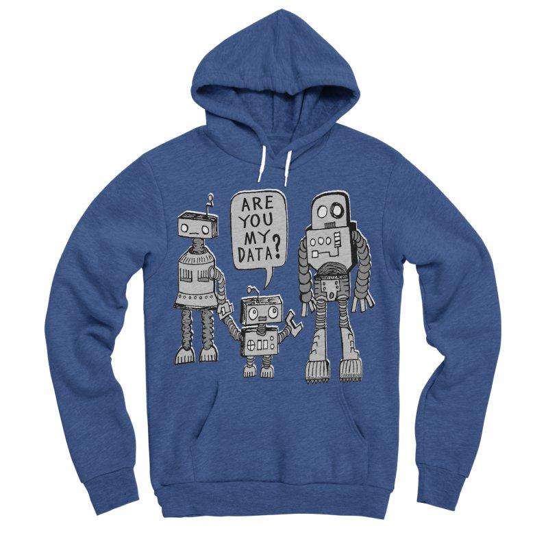 My Data? Robot Kid Women's Sponge Fleece Pullover Hoody by JARHUMOR