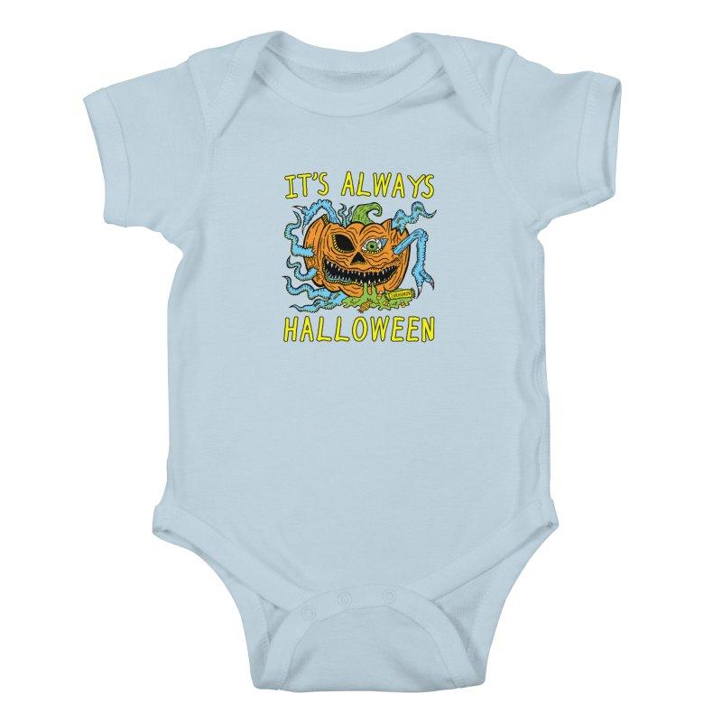 It's Always Halloween Kids Baby Bodysuit by JARHUMOR