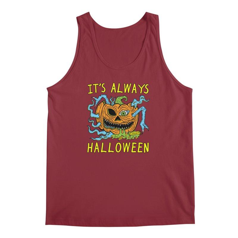 It's Always Halloween Men's Regular Tank by JARHUMOR