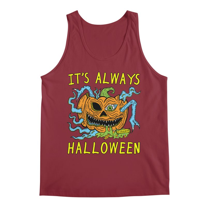 It's Always Halloween Men's Regular Tank by JARHUMOR