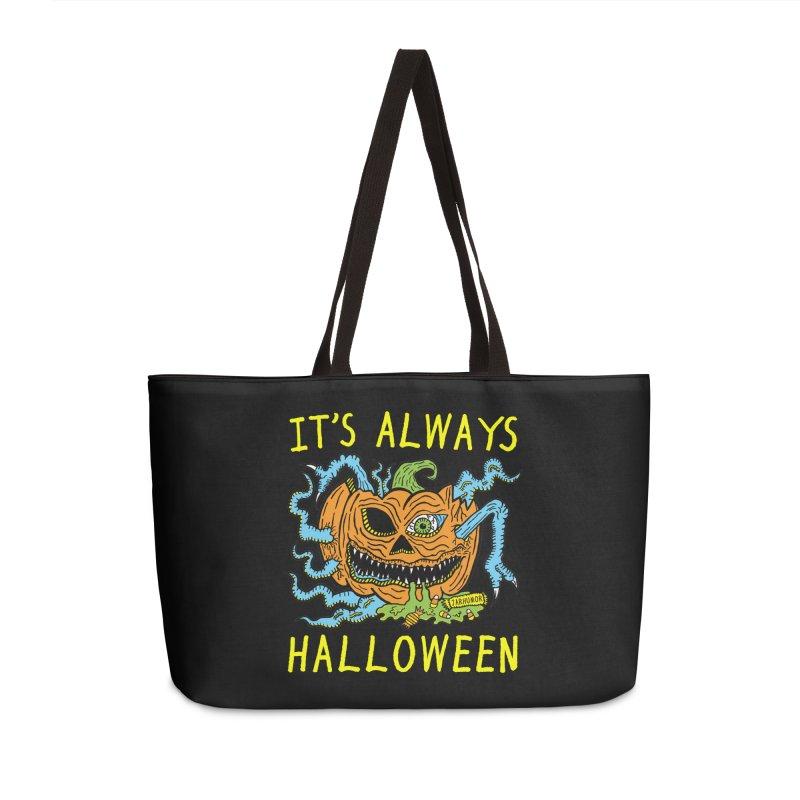 It's Always Halloween Accessories Weekender Bag Bag by JARHUMOR