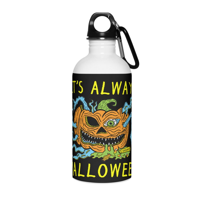 It's Always Halloween Accessories Water Bottle by JARHUMOR