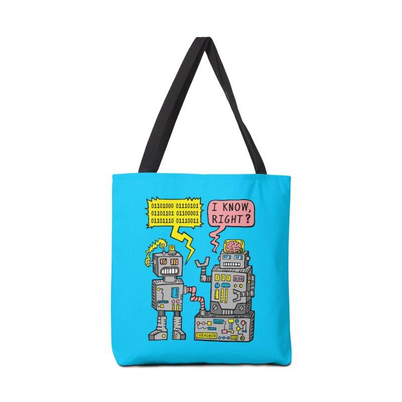 Robot Talk Accessories Bag by JARHUMOR