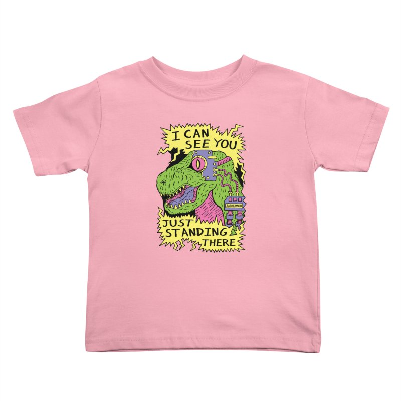 Eye Rex Kids Toddler T-Shirt by James A. Roberson (JARHUMOR)