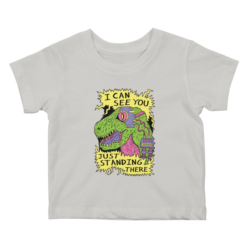 Eye Rex Kids Baby T-Shirt by James A. Roberson (JARHUMOR)