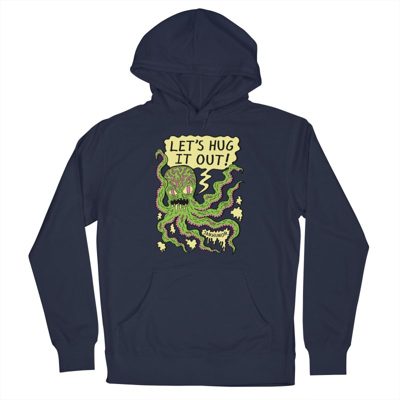 Lets Hug It Out Men's Pullover Hoody by JARHUMOR