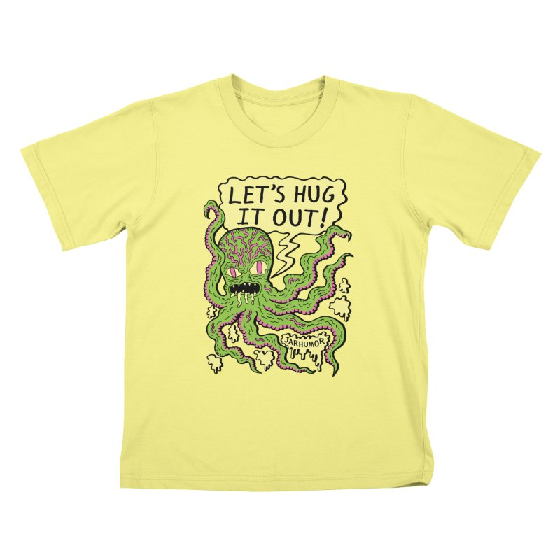 Lets Hug It Out Kids T-shirt by James A. Roberson (JARHUMOR)