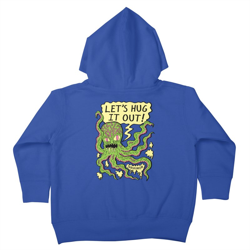 Lets Hug It Out Kids Toddler Zip-Up Hoody by James A. Roberson (JARHUMOR)