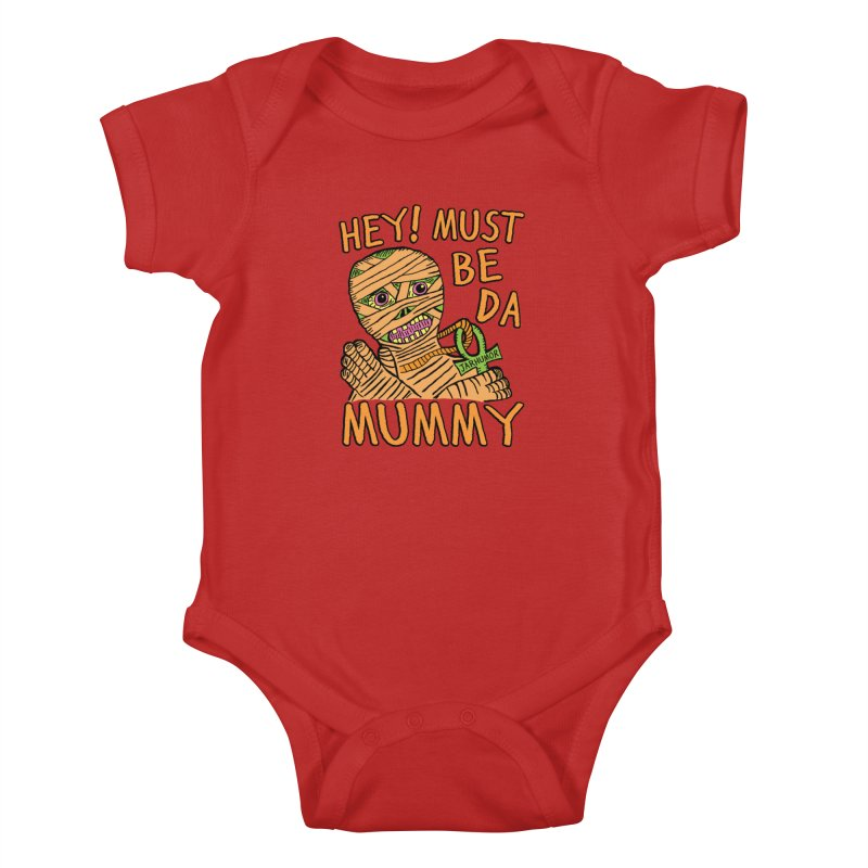 Da Mummy Kids Baby Bodysuit by JARHUMOR