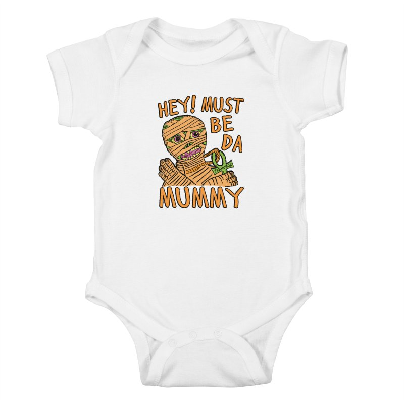 Da Mummy Kids Baby Bodysuit by JARHUMOR