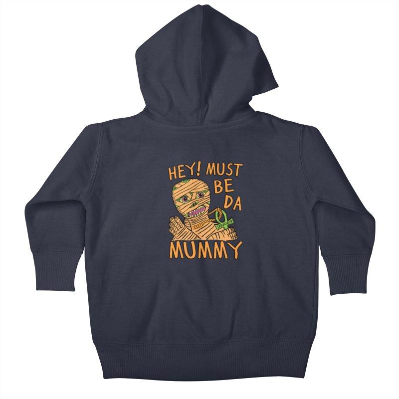 Da Mummy Kids Baby Zip-Up Hoody by JARHUMOR