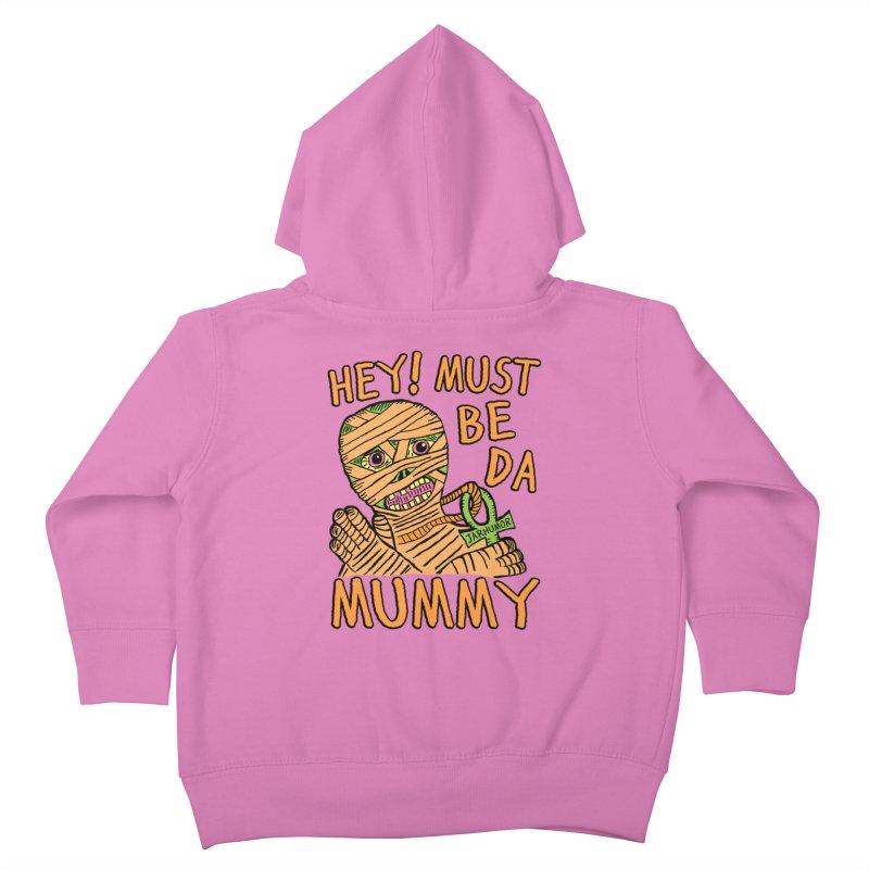 Da Mummy Kids Toddler Zip-Up Hoody by James A. Roberson (JARHUMOR)