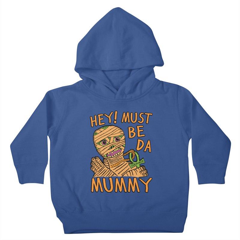 Da Mummy Kids Toddler Pullover Hoody by JARHUMOR