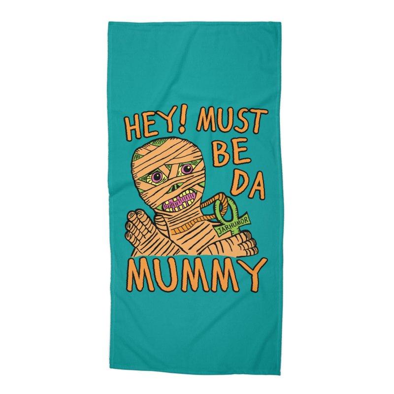 Da Mummy Accessories Beach Towel by JARHUMOR