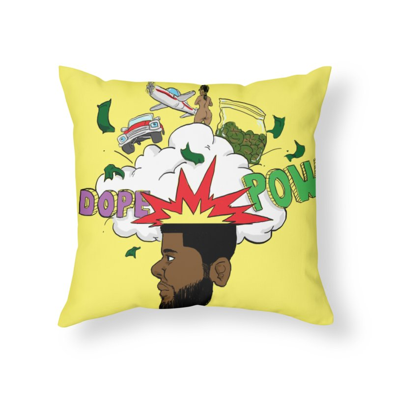 Scatterbrain with a Chance of Showers [Collector's Edition] Home Throw Pillow by Jase Harley Media