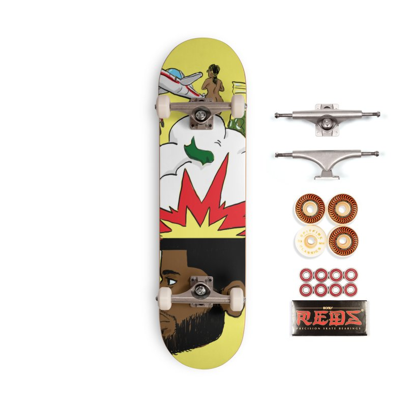 Scatterbrain with a Chance of Showers [Collector's Edition] Accessories Skateboard by Jase Harley Media