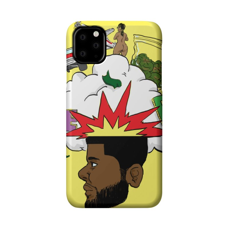 Scatterbrain with a Chance of Showers [Collector's Edition] Accessories Phone Case by Jase Harley Media
