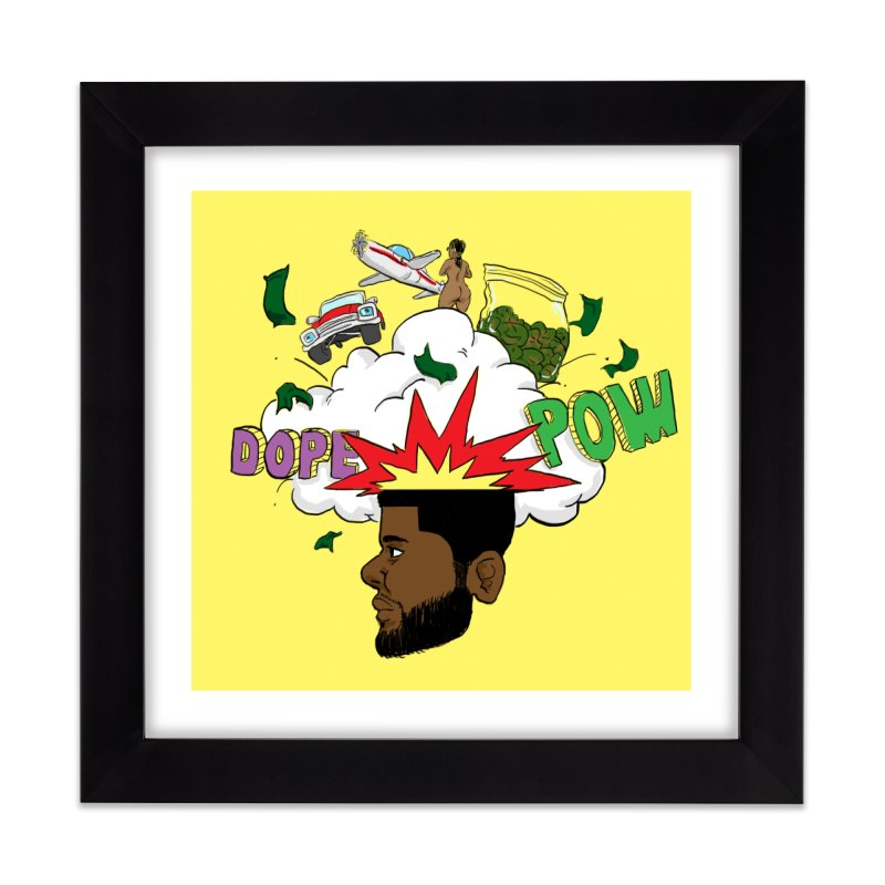 Scatterbrain with a Chance of Showers [Collector's Edition] Home Framed Fine Art Print by Jase Harley Media