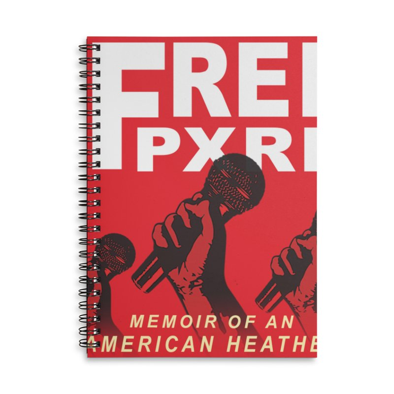 """""""Free Pxrn"""" Alternate Cover 2017 [Collector's Edition] Accessories Notebook by Jase Harley Media"""