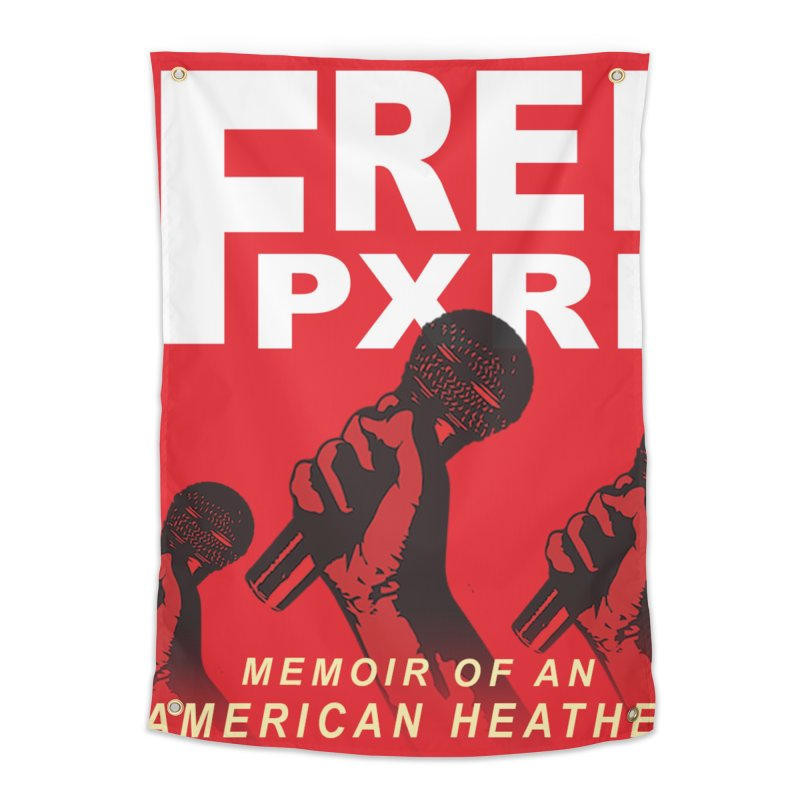 """""""Free Pxrn"""" Alternate Cover 2017 [Collector's Edition] Home Tapestry by Jase Harley Media"""