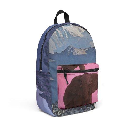 "Design for ""Urban Futurism"" Travel Backpack by Jase Harley"