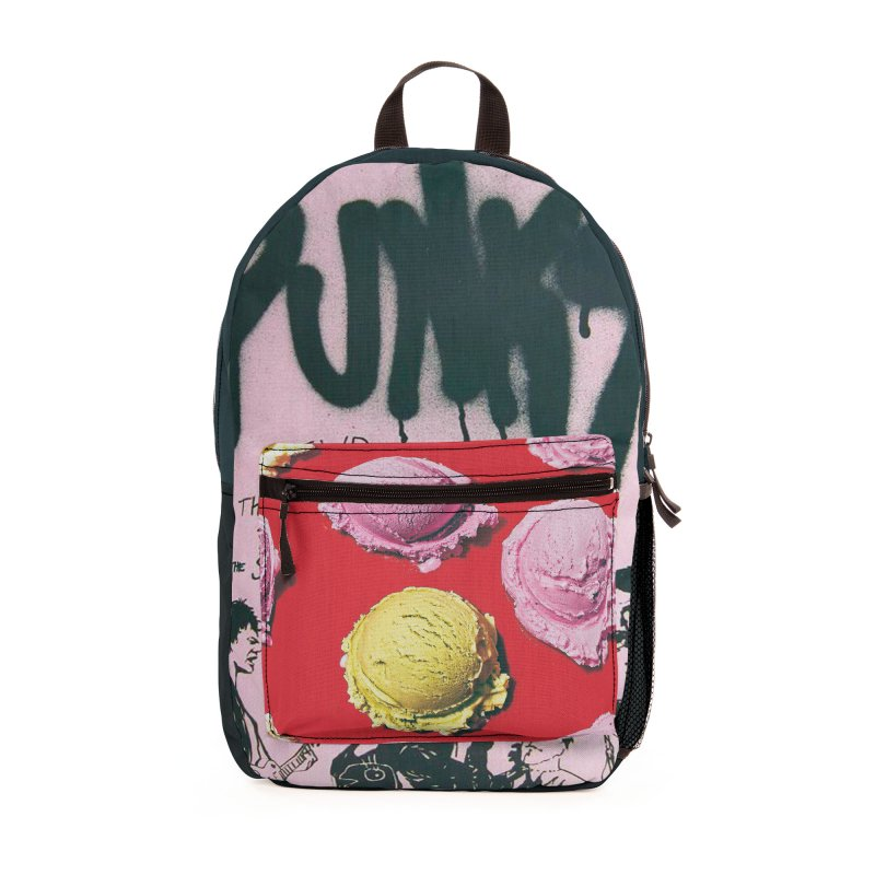 """P.U.N.K."" Travel Backpack by Jase Harley Accessories Bag by Jase Harley Media"