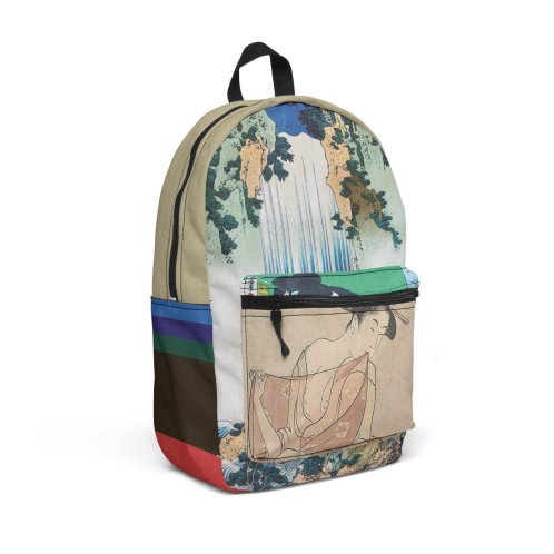 """Design for """"Ukiyo"""" Travel Backpack by Jase Harley [Collector's Series]"""