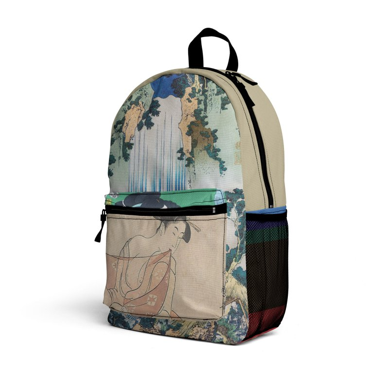 """Ukiyo"" Travel Backpack by Jase Harley [Collector's Series] Accessories Bag by Jase Harley Media"