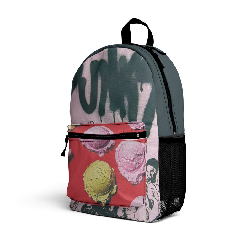 """P.U.N.K."" Travel Backpack by Jase Harley [Collector's Series] Accessories Bag by Jase Harley Media"