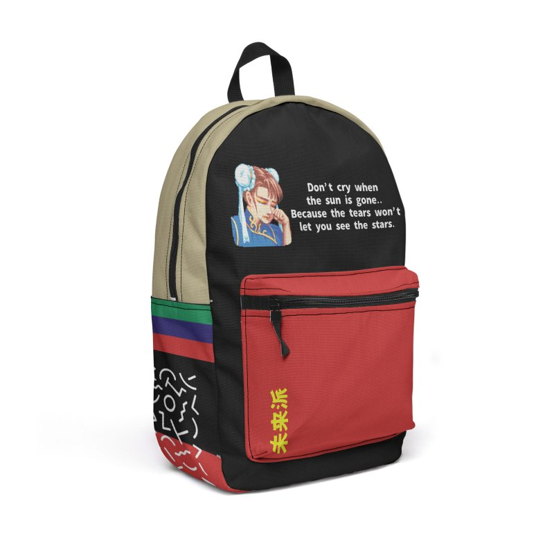 """Chun Li"" Travel Backpack by Jase Harley  [Collector's Series] Accessories Bag by Jase Harley Media"