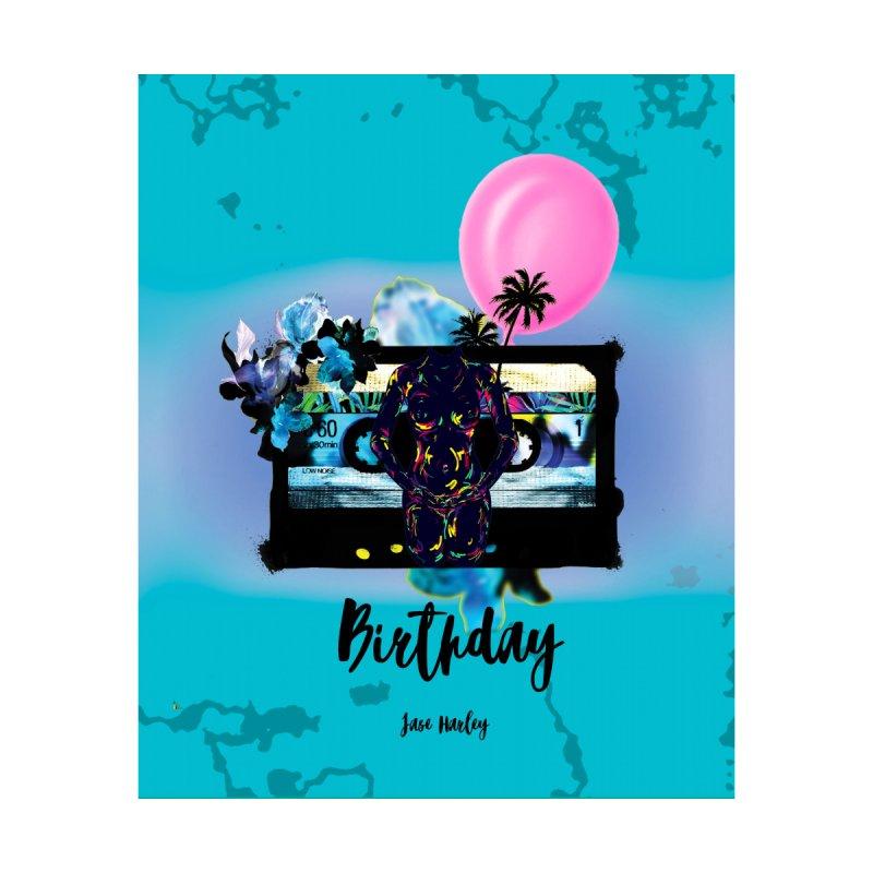 Birthday Home Fine Art Print by Jase Harley Media