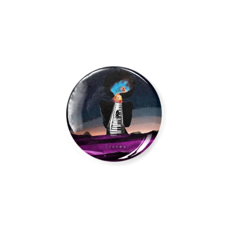 Dreams Accessories Button by Jase Harley Media