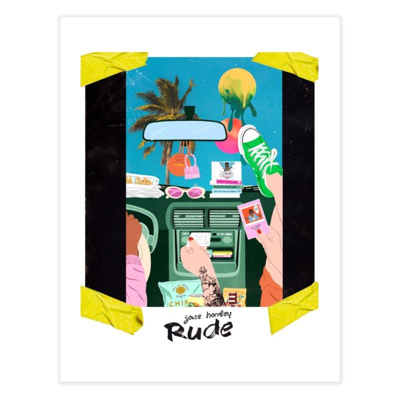 Rude Home Fine Art Print by Jase Harley Media